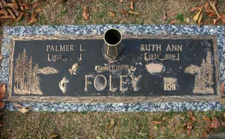 FOLEY (VETERAN KOR), PALMER LEWIS - Baxter County, Arkansas | PALMER LEWIS FOLEY (VETERAN KOR) - Arkansas Gravestone Photos