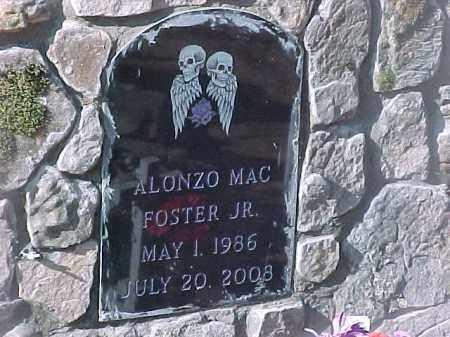 FOSTER, JR. (1), ALONZO MAC - Baxter County, Arkansas | ALONZO MAC FOSTER, JR. (1) - Arkansas Gravestone Photos