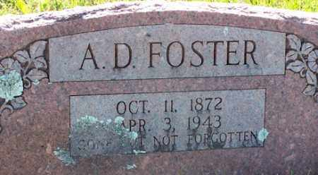 FOSTER, A. D. - Baxter County, Arkansas | A. D. FOSTER - Arkansas Gravestone Photos