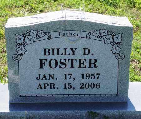 FOSTER, BILLY D - Baxter County, Arkansas   BILLY D FOSTER - Arkansas Gravestone Photos