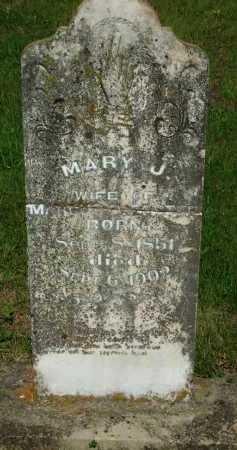 FOSTER, MARY J. - Baxter County, Arkansas | MARY J. FOSTER - Arkansas Gravestone Photos