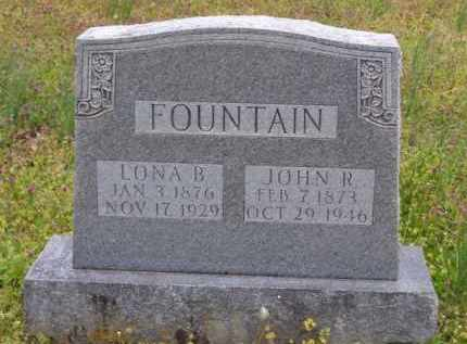 FOUNTAIN, LONA B. - Baxter County, Arkansas | LONA B. FOUNTAIN - Arkansas Gravestone Photos