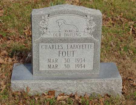 FOUT, CHARLES LAFAYETTE - Baxter County, Arkansas | CHARLES LAFAYETTE FOUT - Arkansas Gravestone Photos