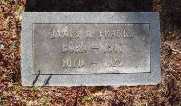 FRANKS, JAMES H. - Baxter County, Arkansas | JAMES H. FRANKS - Arkansas Gravestone Photos