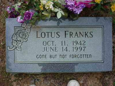 FRANKS, LOTUS - Baxter County, Arkansas | LOTUS FRANKS - Arkansas Gravestone Photos