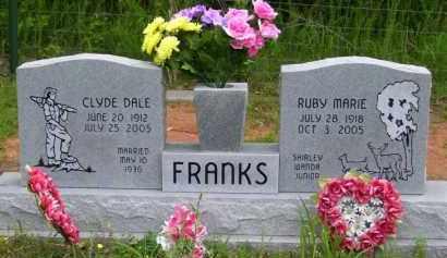 FRANKS, RUBY MARIE - Baxter County, Arkansas | RUBY MARIE FRANKS - Arkansas Gravestone Photos