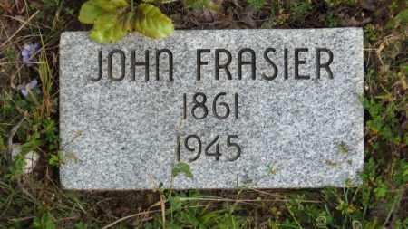 FRASIER, JOHN - Baxter County, Arkansas | JOHN FRASIER - Arkansas Gravestone Photos