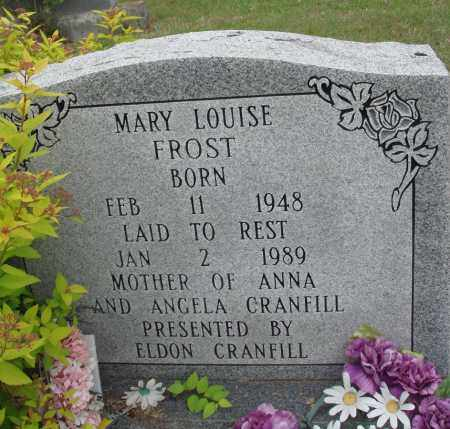 FROST, MARY LOUISE - Baxter County, Arkansas | MARY LOUISE FROST - Arkansas Gravestone Photos