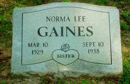 GAINES, NORMA LEE - Baxter County, Arkansas | NORMA LEE GAINES - Arkansas Gravestone Photos