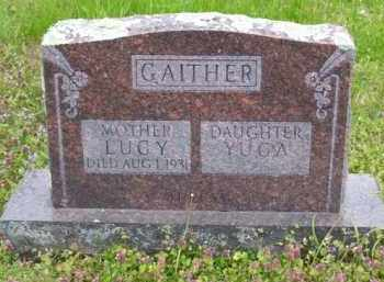 GAITHER, YUCA - Baxter County, Arkansas | YUCA GAITHER - Arkansas Gravestone Photos