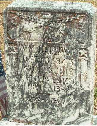 GALLAWAY (VETERAN CSA), WILLIAM WASHINGTON MONTGOMERY - Baxter County, Arkansas | WILLIAM WASHINGTON MONTGOMERY GALLAWAY (VETERAN CSA) - Arkansas Gravestone Photos