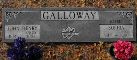 GALLOWAY, JOHN HENRY - Baxter County, Arkansas | JOHN HENRY GALLOWAY - Arkansas Gravestone Photos