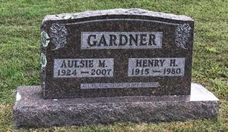 GARDNER, HENRY H. - Baxter County, Arkansas | HENRY H. GARDNER - Arkansas Gravestone Photos