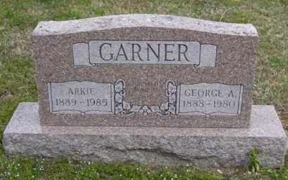 CRAFTON GARNER, ARKIE - Baxter County, Arkansas | ARKIE CRAFTON GARNER - Arkansas Gravestone Photos