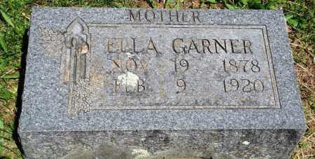 GARNER, ELLA - Baxter County, Arkansas   ELLA GARNER - Arkansas Gravestone Photos