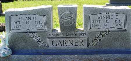 GARNER, WINNIE E - Baxter County, Arkansas   WINNIE E GARNER - Arkansas Gravestone Photos