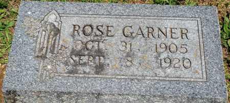GARNER, ROSE - Baxter County, Arkansas | ROSE GARNER - Arkansas Gravestone Photos