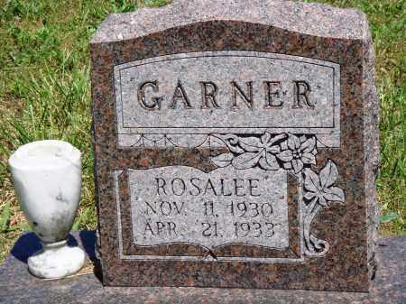 GARNER, ROSALEE - Baxter County, Arkansas   ROSALEE GARNER - Arkansas Gravestone Photos