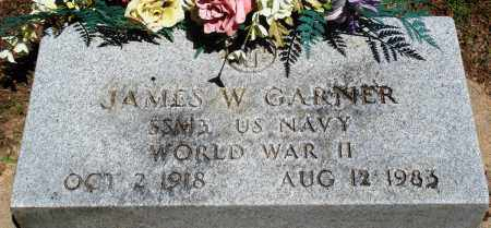 GARNER (VETERAN WWII), JAMES W - Baxter County, Arkansas | JAMES W GARNER (VETERAN WWII) - Arkansas Gravestone Photos