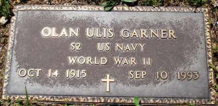 GARNER (VETERAN WWII), OLAN ULIS - Baxter County, Arkansas | OLAN ULIS GARNER (VETERAN WWII) - Arkansas Gravestone Photos