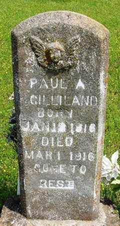 GILLILAND, PAUL A - Baxter County, Arkansas   PAUL A GILLILAND - Arkansas Gravestone Photos