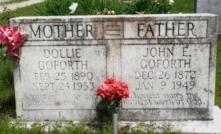 GOFORTH, DOLLIE - Baxter County, Arkansas | DOLLIE GOFORTH - Arkansas Gravestone Photos