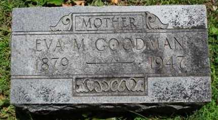 GOODMAN, EVA M. - Baxter County, Arkansas | EVA M. GOODMAN - Arkansas Gravestone Photos