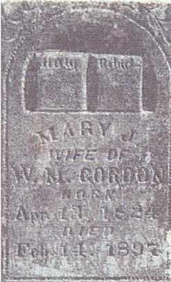 GORDON, MARY JANE - Baxter County, Arkansas   MARY JANE GORDON - Arkansas Gravestone Photos