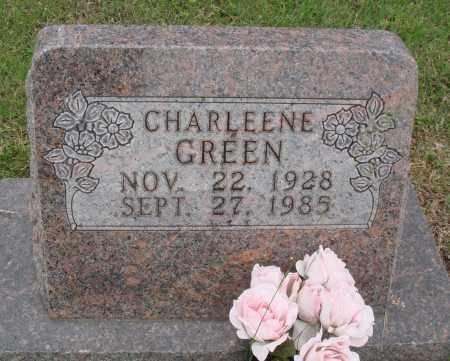 GREEN, CHARLEENE - Baxter County, Arkansas | CHARLEENE GREEN - Arkansas Gravestone Photos