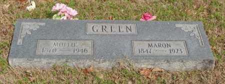 GREEN, MOLLIE - Baxter County, Arkansas | MOLLIE GREEN - Arkansas Gravestone Photos
