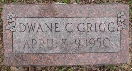 GRIGG, DWANE C - Baxter County, Arkansas | DWANE C GRIGG - Arkansas Gravestone Photos