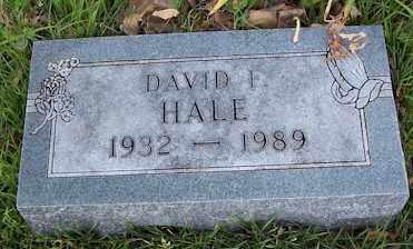 "HALE, DAVID FRANCIS ""MUTT - Baxter County, Arkansas   DAVID FRANCIS ""MUTT HALE - Arkansas Gravestone Photos"