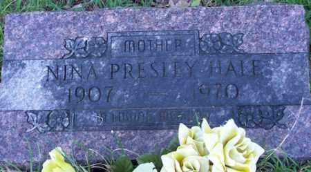 PRESLEY HALE, NINA IRENE - Baxter County, Arkansas | NINA IRENE PRESLEY HALE - Arkansas Gravestone Photos