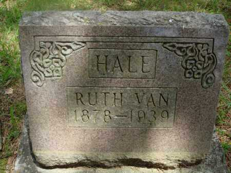 HALE, RUTH VAN - Baxter County, Arkansas | RUTH VAN HALE - Arkansas Gravestone Photos