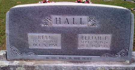 HALL, ELIJAH E - Baxter County, Arkansas | ELIJAH E HALL - Arkansas Gravestone Photos