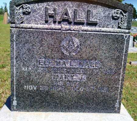 HALL, ELISHA L - Baxter County, Arkansas | ELISHA L HALL - Arkansas Gravestone Photos