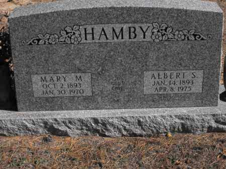 HAMBY, ALBERT S. - Baxter County, Arkansas | ALBERT S. HAMBY - Arkansas Gravestone Photos