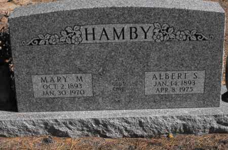 CHAPMAN HAMBY, MARY M. - Baxter County, Arkansas | MARY M. CHAPMAN HAMBY - Arkansas Gravestone Photos