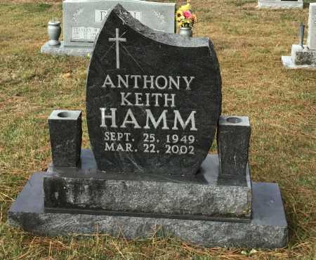 HAMM, ANTHONY KEITH - Baxter County, Arkansas | ANTHONY KEITH HAMM - Arkansas Gravestone Photos