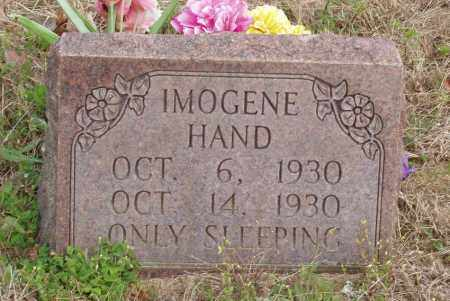 HAND, IMOGENE - Baxter County, Arkansas | IMOGENE HAND - Arkansas Gravestone Photos