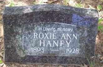 HANEY, ROXIE ANN - Baxter County, Arkansas | ROXIE ANN HANEY - Arkansas Gravestone Photos