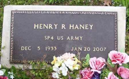 HANEY (VETERAN), HENRY R - Baxter County, Arkansas   HENRY R HANEY (VETERAN) - Arkansas Gravestone Photos