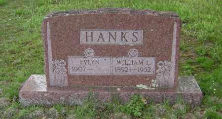 HANKS, WILLIAM L. - Baxter County, Arkansas   WILLIAM L. HANKS - Arkansas Gravestone Photos