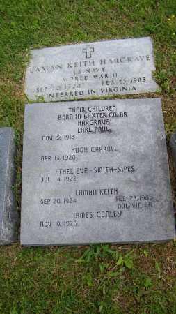 HARGRAVE (VETERAN WWII), LAMAN KEITH - Baxter County, Arkansas | LAMAN KEITH HARGRAVE (VETERAN WWII) - Arkansas Gravestone Photos
