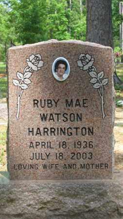 HARRINGTON, RUBY MAE - Baxter County, Arkansas | RUBY MAE HARRINGTON - Arkansas Gravestone Photos