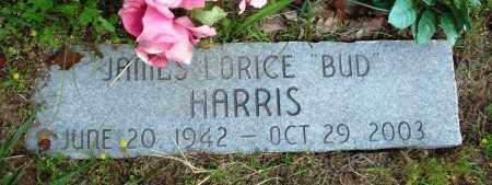 "HARRIS, JAMES LORICE ""BUD"" - Baxter County, Arkansas | JAMES LORICE ""BUD"" HARRIS - Arkansas Gravestone Photos"