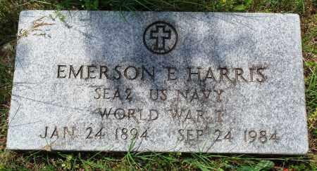 HARRIS (VETERAN WWI), EMERSON EDWARD - Baxter County, Arkansas | EMERSON EDWARD HARRIS (VETERAN WWI) - Arkansas Gravestone Photos
