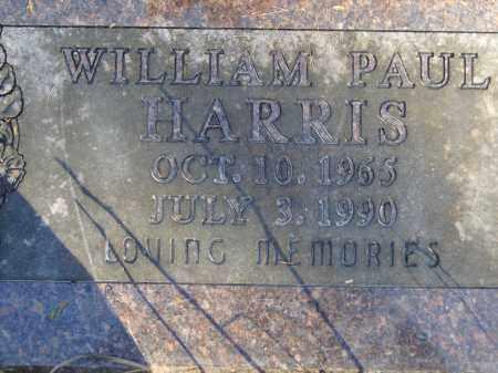 HARRIS, WILLIAM PAUL - Baxter County, Arkansas   WILLIAM PAUL HARRIS - Arkansas Gravestone Photos