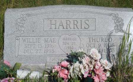 HARRIS, THURLO - Baxter County, Arkansas | THURLO HARRIS - Arkansas Gravestone Photos