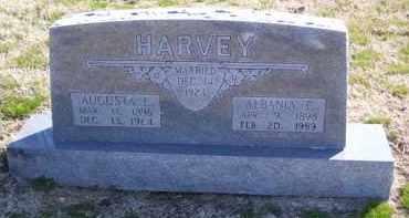 HAGAR HARVEY, ALBANIA E. - Baxter County, Arkansas | ALBANIA E. HAGAR HARVEY - Arkansas Gravestone Photos